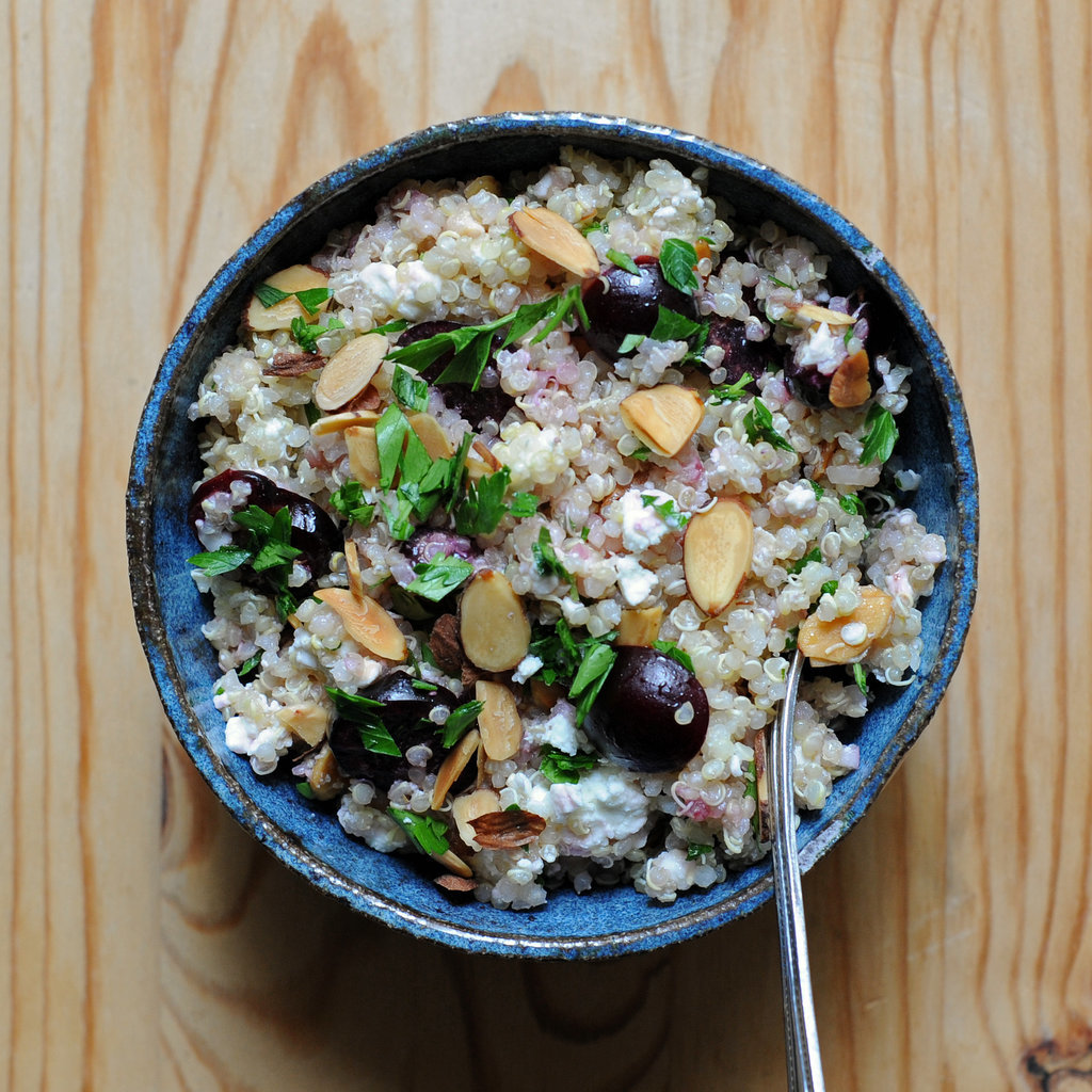 Quinoa Salad With Feta and Cherries