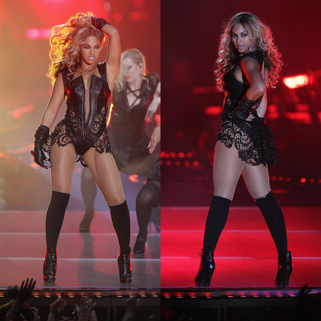 Beyoncé in Rubin Singer at the 2013 Super Bowl
