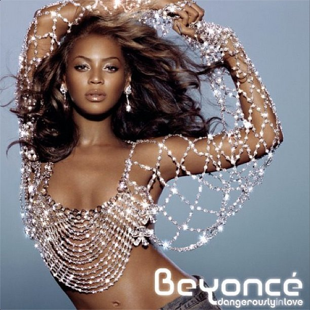 Beyoncé on the cover of Dangerously in Love (2003)