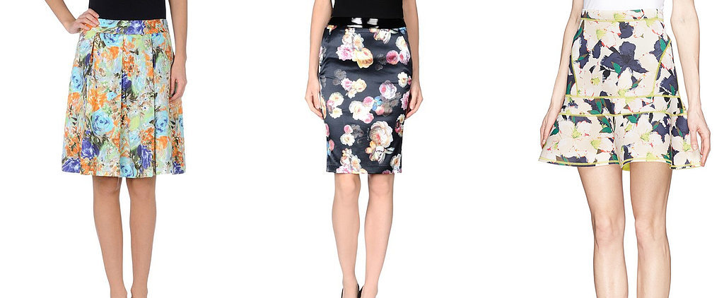 Get Jessica Alba's Floral Skirt Look For Less!