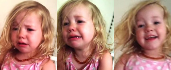 "This Little Girl Is Adorably Devastated After Her Dad ""Steals"" Her Nose"