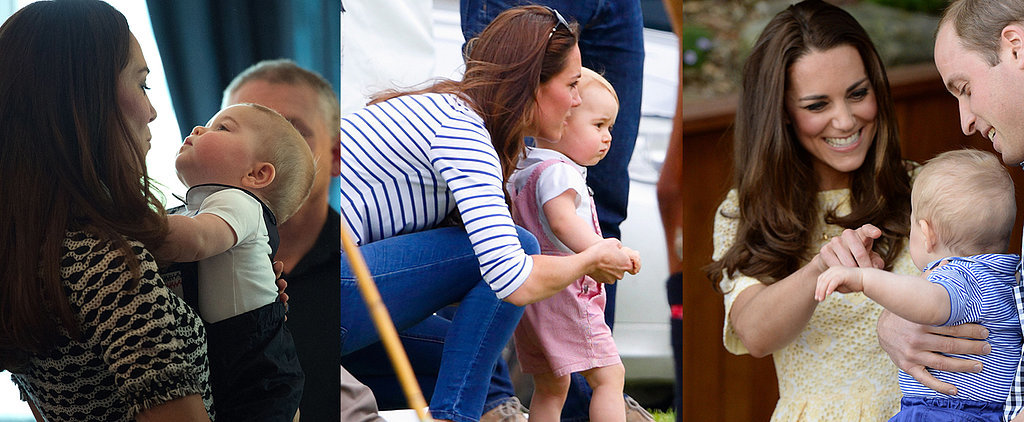The 17 Sweetest Snaps of Prince George and Kate