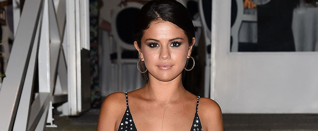 Is Selena Gomez the News Queen of the Right Leg?