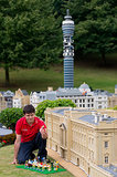 Lego Model Maker Marco Mirano Put Together the Lego-Style Royal Birthday Party