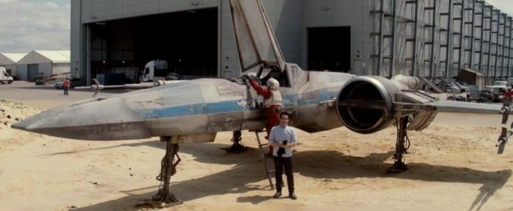 A First Look at the X-Wing Starfighter From Star Wars
