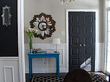 11 Reasons to Paint Your Interior Doors Black (14 photos)