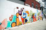 J.Crew's Take on Brooklyn Involves Graffiti