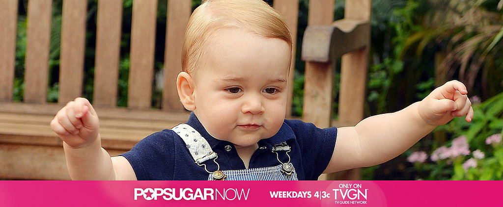 Today on POPSUGAR Now: Happy Birthday, Prince George