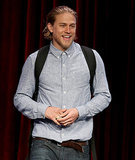Charlie Hunnam's favourite accessory at the TCAs 2014