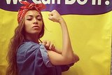 Bey Can Do It! Beyoncé Dresses Up As Rosie the Riveter