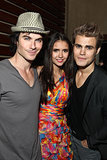 Vampire Diaries stars Ian Somerhalder, Nina Dobrev, and Paul Wesley partied together during the 2011 event.