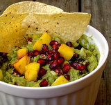 Pomegranate and Mango Guacamole
