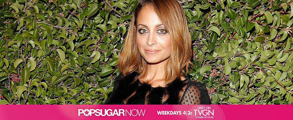 Today on POPSUGAR Now: Steal Decorating Tips From Nicole Richie