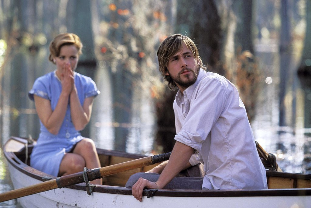 When Ryan Gosling Rowed Her Through a Pond of Swans