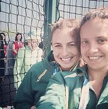 Queen Elizabeth II Photobomb Picture