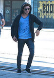 Zac Efron stepped out in LA on Wednesday.
