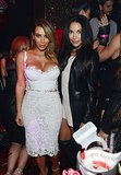 Kim Kardashian and Naya Rivera