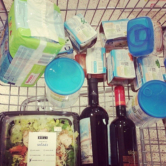 When these are your grocery essentials.