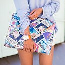 <i>Lucky</i>'s Five Favorite Looks of the Week: How To Style A Graphic Clutch