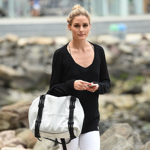 Olivia Palermo's Black and White Outfit