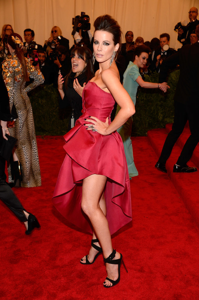 Kate Beckinsale showed off her edgy side at the 2013 Met Gala.