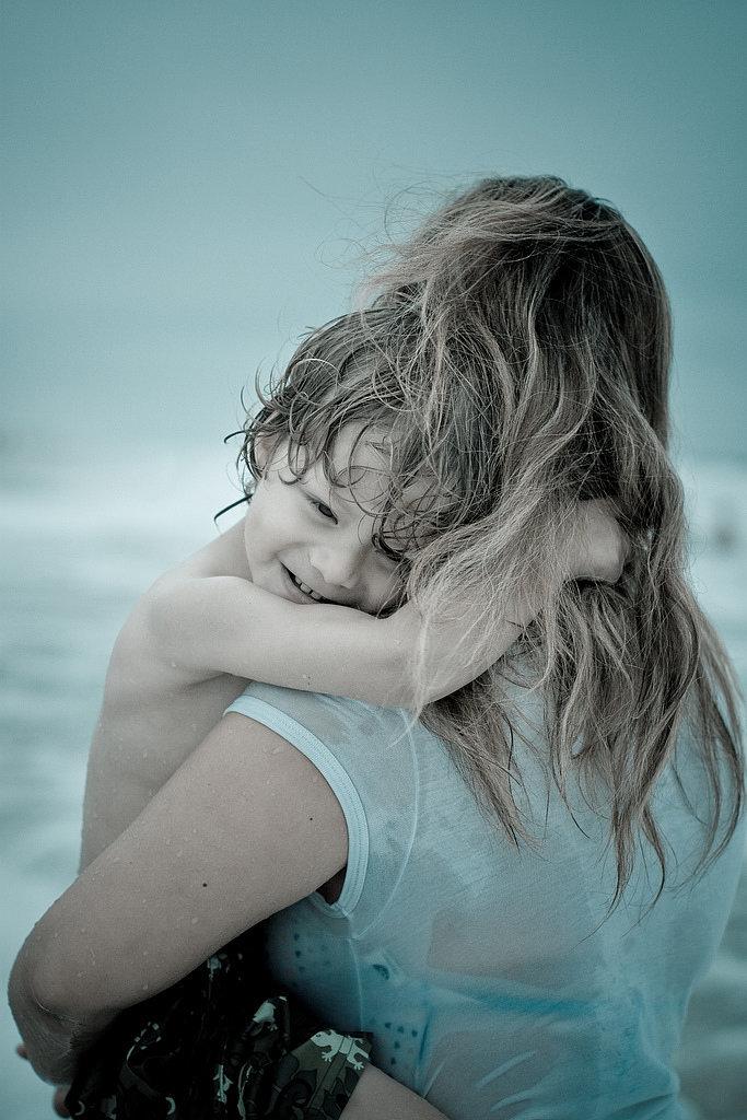 Kids crave a model of calmness.