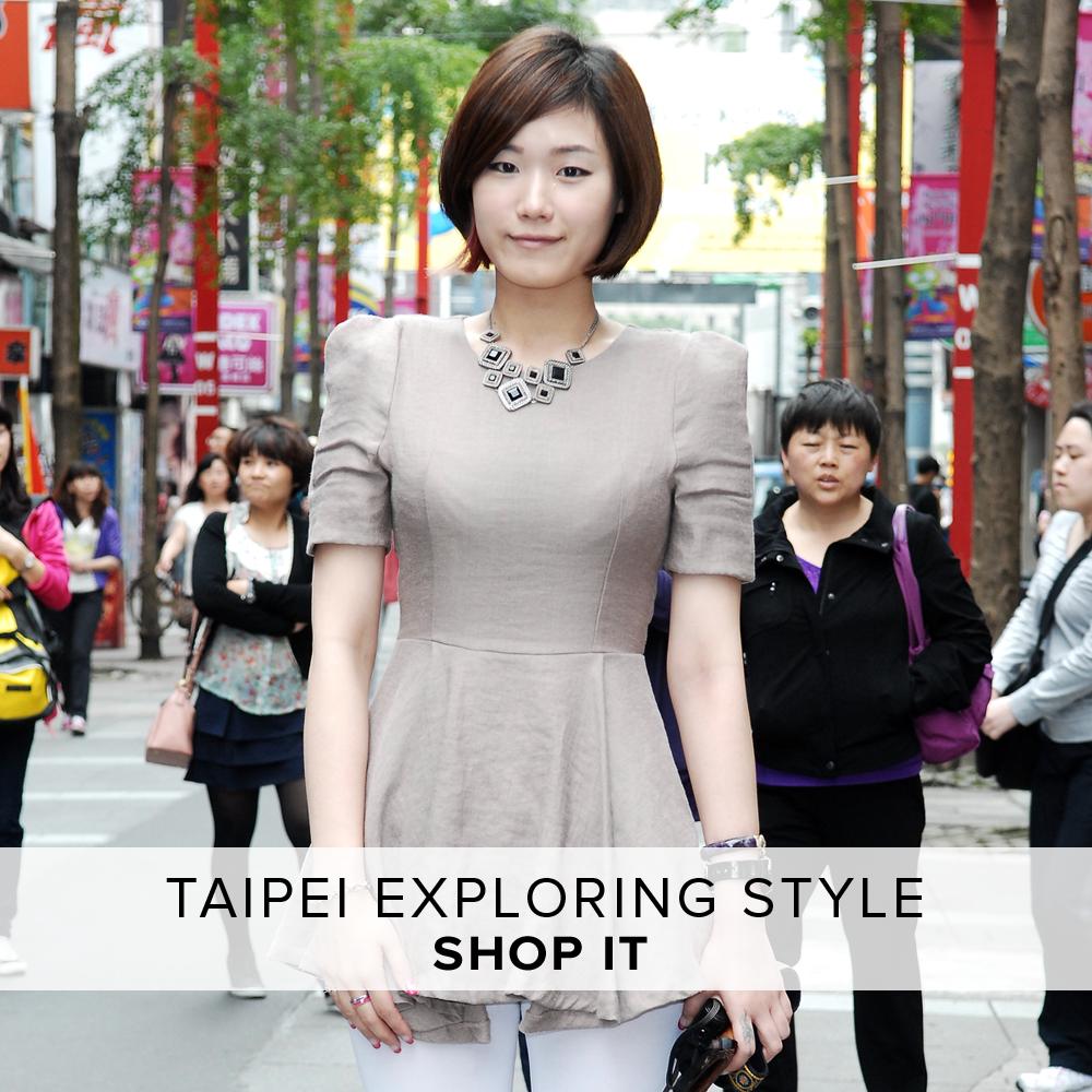 Summer Travel 2014 台北・街歩きスタイル