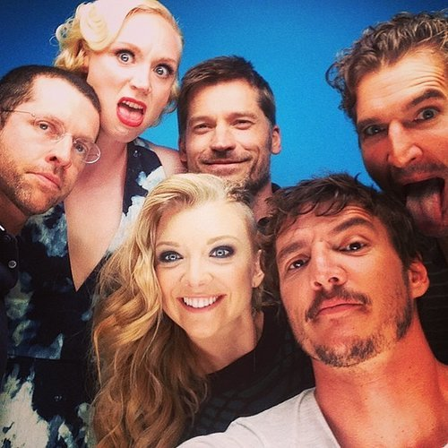 Celebrity Instagram Pictures at Comic-Con 2014