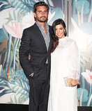 Kourtney Kardashian Covers Up Baby Bump in Chic White Dress: Picture