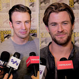 Avengers Age Of Ultron Comic-Con 2014 Cast Video Interview