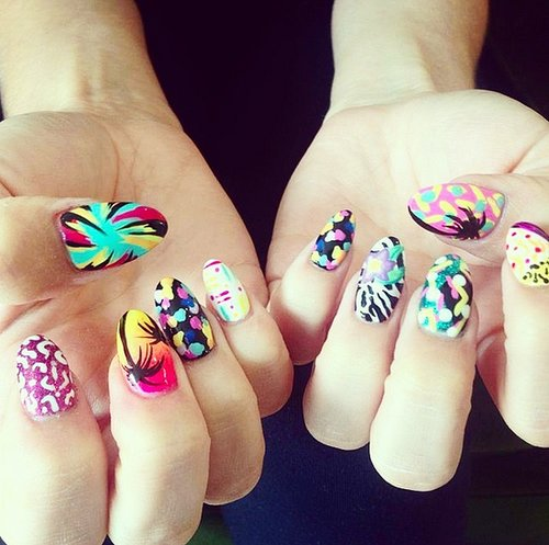 Festival Season Nail Art Ideas From Instagram