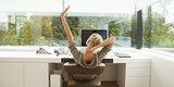5 Office Yoga Poses (That Won't Freak Out Your Coworkers)