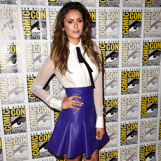 Nina Dobrev Tops Our List of Chicest Geeks at Comic-Con!