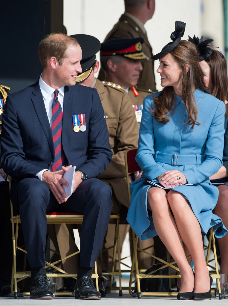 Will and Kate shared a sweet look at an event in France in 2014.