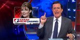 Stephen Colbert Buys TheSarahPalinChannel.com, Promises His Own 'Angry Echo Chamber'