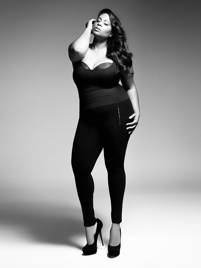 "Know What Works ""As a plus-size model, you have to know your angles. That's number one. You have to know about colors"