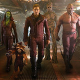 Chris Pratt's and Zoe Saldana's Guardians Characters