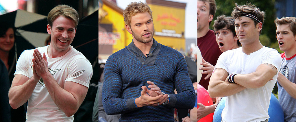 12 Celebs Who Can't Contain Their Muscles