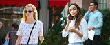 Poppy Delevingne and Ashley Madekwe Tell a Tale of 2 Cutoffs