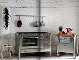 Race-Car-Style Appliances for Compact Kitchens