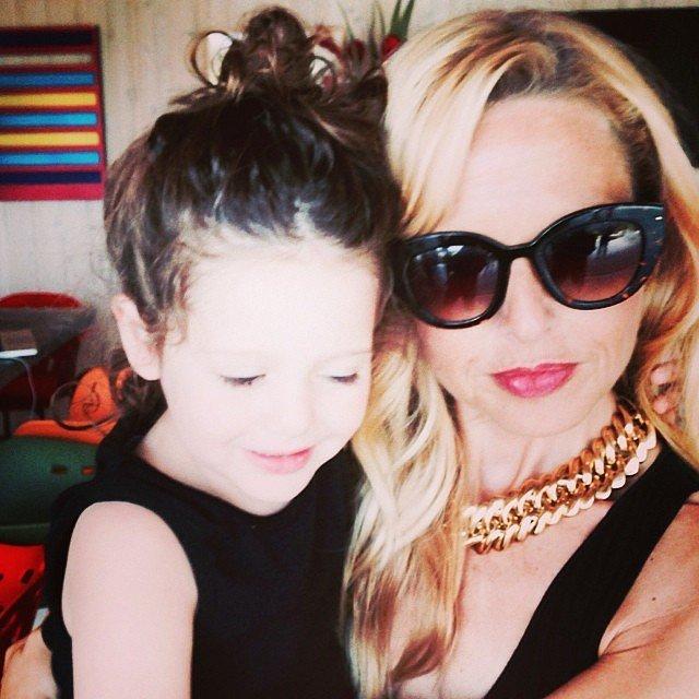 Rachel Zoe snapped a selfie with her oldest son Skyler.  Source: Instagram user rachelzoe