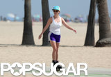 Reese Witherspoon went Rollerblading in Santa Monica on Friday.