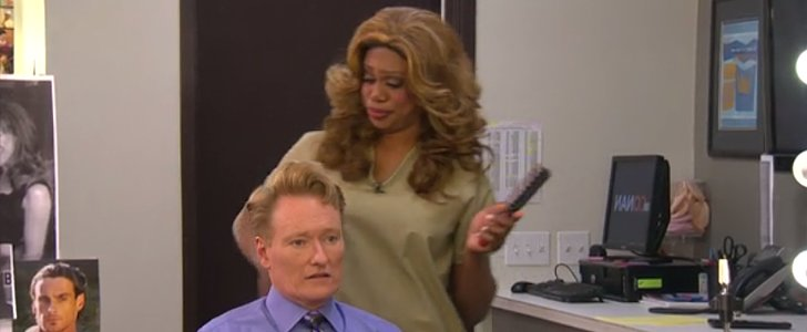 Watch Laverne Cox Give Conan O'Brien a Hilarious Makeover