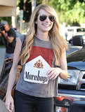 Emma Roberts was all smiles in LA on Tuesday.