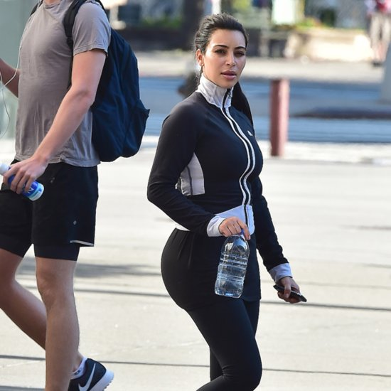 Kim Kardashian Talks About Baby Weight On Twitter