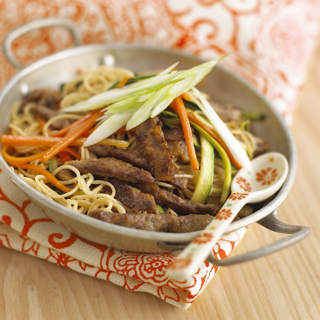 Beef and Noodle Stir-Fry