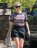 Reese Witherspoon unleashed a smile on Wednesday while running errands in LA.