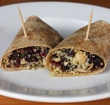 High-Protein Vegan Quinoa Wrap Lunch Recipe