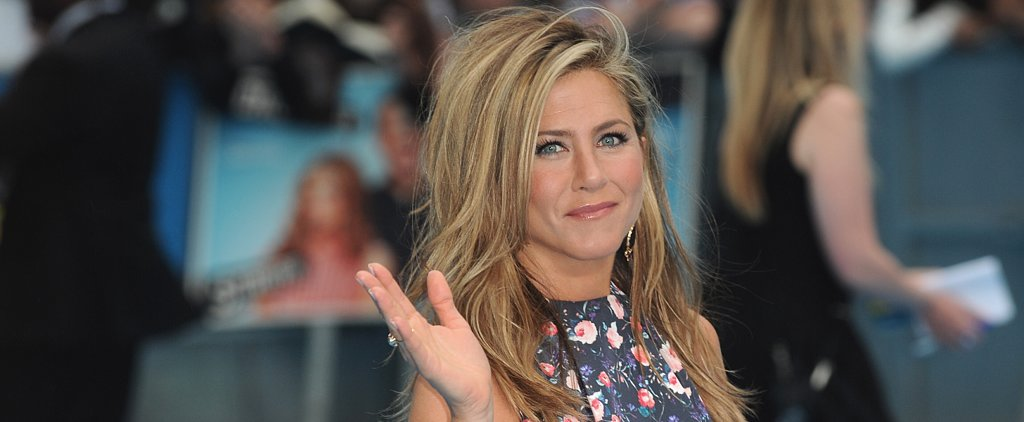 "Jennifer Aniston: Justin Theroux ""Will Put a Gun to My Head If I Touch My Face"""