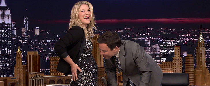 Ali Larter Reveals Her Exciting Pregnancy News on The Tonight Show